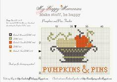 My Happy Memories: Pumpkins & Pins Freebie