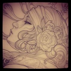 Tattoo Artwork by Jeff Gogue in Grants Pass, Oregon