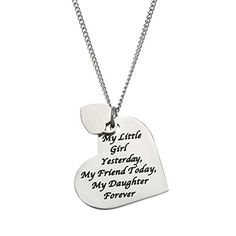 """""""My Little Girl Yesterday, My Friend Today, My Daughter Forever"""" Daughter's Necklace Beads & Pearls Jewelry http://www.amazon.com/dp/B00WVRHPI0/ref=cm_sw_r_pi_dp_H2WIwb1HA3WQ4"""