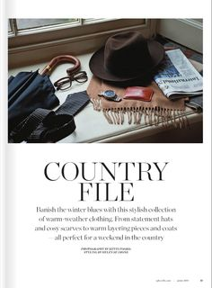 Marwood Dash Spot tie in Sphere Magazine