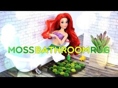 How to Make a Doll Moss Bathroom Rug - Pinterest Crafts - 4K - YouTube