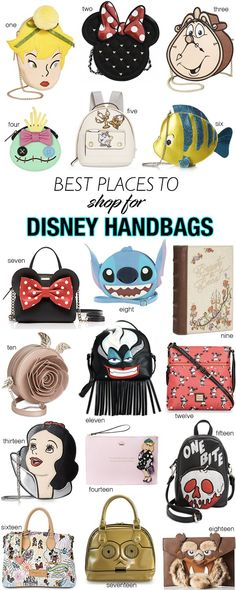 Best Places to Shop for Disney Themed Handbags - 4 All Things Disney Disney  Purse, 09c01e719a