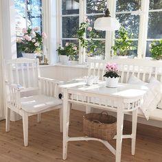 Shabby and Charme: Una luminosa casa svedese