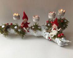 FilzArts by FilzartShop on Etsy Christmas Star, Christmas Wood, Christmas Themes, Christmas Holidays, Christmas Wreaths, Christmas Crafts, Christmas Decorations, Christmas Ornaments, Wood Centerpieces