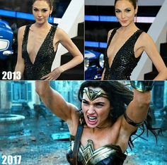 Muscles wow :D She went from emaciated to healthy, fit & muscular! I hope she stays that way