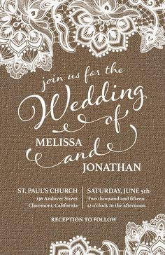Country Rustic Wedding Invitation | Vistaprint
