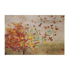 Autumn Forest Trail Canvas Art Print | Kirklands