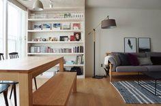 [BY 까사리빙] 삶의 질을 높이고자 선택한 리노베이션. 하지만 막상 시작하려니 어디서부터 어떻게 준비... Living Room Furniture Arrangement, Living Room Decor Cozy, Living Room Modern, My Living Room, Home And Living, Apartment Interior Design, Interior Design Living Room, Living Room Designs, Apartment Living