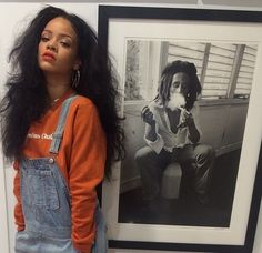 Find images and videos about rihanna, riri and bob marley on We Heart It - the app to get lost in what you love. Grunge Look, Grunge Style, Fenty Rihanna, Rihanna Mode, Rihanna 2014, Good Girl Gone Bad, Style Rihanna, Rihanna Outfits, Womens Fashion