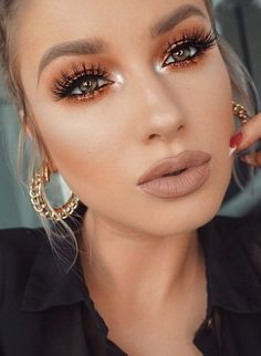 Anastasia Beverly Hills Liquid Lipstick in Pure Hollywood Gorgeous Makeup, Pretty Makeup, Love Makeup, Makeup Inspo, Makeup Inspiration, Beauty Makeup, Diy Beauty, Makeup Night Out, Pure Beauty