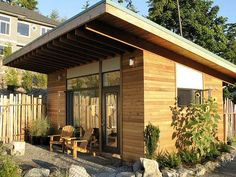 Converted Outdoor Sheds Bring New Life to Old Storage #homedecor trendhunter.com