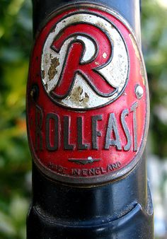 Rollfast Bicycles Made in England Headbadge