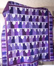 Purple Kitties... I LOVE purple & I LOVE kitties!!! Too cute!