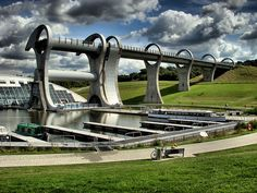 14. The Falkirk Wheel  25 of the World's Most Unique Bridges