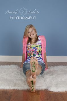 Graduation Senior Photography...this would be cute on the bottom of boots