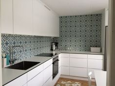 The Specialist in Cement Tiles. Tiles, Kitchen Cabinets, Decor, Inspiration, Kitchen, Home, Interior, Cabinet, Home Decor