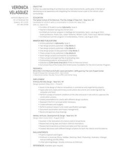 Modern Dwell Resume Template  The Naomi  Cas Template And An