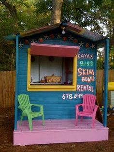 Love this adorable playhouse!