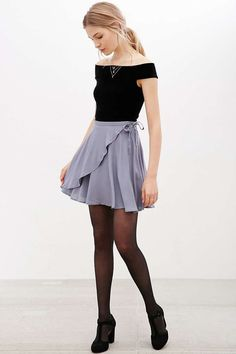 Minijupe Ballet drapée Kimchi Blue - Urban Outfitters