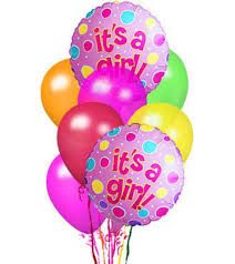 Baby Girl Balloon Bouquet in La Plata MD, Gateway Florist, Inc. Welcome Baby Girls, New Baby Girls, Mylar Balloons, Latex Balloons, Baby Girl Congratulations Message, Baby Ballon, Baby Girl Wishes, New Baby Flowers, Baby Glitter