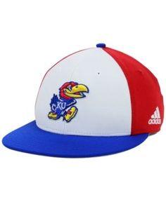 adidas Kansas Jayhawks Ncaa On-Field Baseball Cap - Red 7 1/4