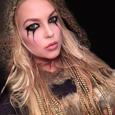 viking makeup - Google Search