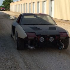My custom 240sx wide body kit! It has a rb25 in it, hoping to work on it this winter!