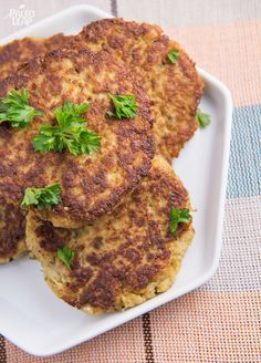 The Healthy Foodie's Cauliflower Fritters (From Paleo Home Cooking) + enter to win a copy! #Paleo