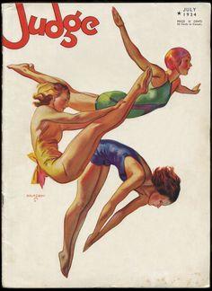 mudwerks:    (via The Pictorial Arts: Still Here)  John Holmgren — Judge — July 1934