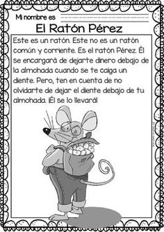 Easy Readings for Reading Comprehension in Spanish - Dental Health Más Spanish Lessons For Kids, Spanish Teaching Resources, Spanish Lesson Plans, Spanish Language Learning, Learn Spanish, Spanish Projects, Spanish Games, Space Activities, Reading Activities