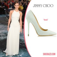 Jimmy Choo Sorbet Suede Anouk Pumps