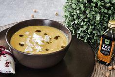 Csicseri krémleves 4db Fondue, Curry, Chips, Ethnic Recipes, Curries, Potato Chip, Potato Chips
