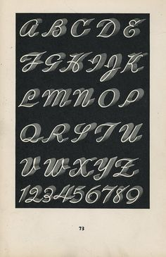 Lettering of Today, page 73. By Depression Press, via Flickr
