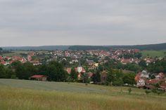 Overlooking Burkardroth, Wolbach and Zahlbach