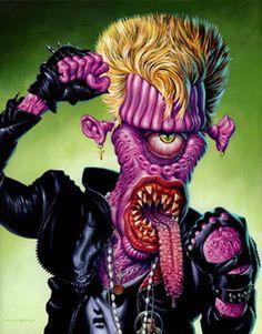 Monsters of Rock por Jason Edmiston