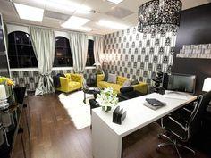 @krisjenner's office decoration, HGTV