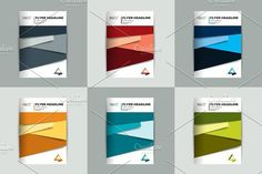 Brochure cover design.. Creative Business Card Templates