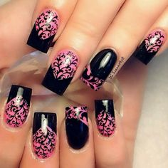 LOVIN this pretty mani!!!! | See more nail designs at http://www.nailsss.com/acrylic-nails-ideas/2/