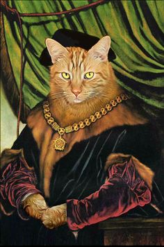 Royal Cats & Dogs custom dog portraits in regal, renaissance or funny uniform created by our pet portraiture artist within a week for Custom Dog Portraits, Pet Portraits, Portrait Paintings, Cat People, Dog Costumes, Unique Animals, Animal Paintings, Cat Art, Dog Cat
