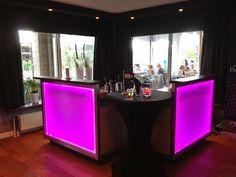 #cocktailbar met led verlichting