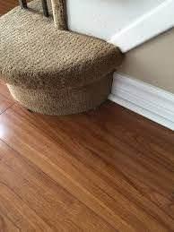 Image result for how to finish wood laminate at foot of stairs