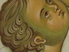 Fasi Volto Byzantine Art, Art Icon, Religious Art, Virgin Mary, Madonna, Christ, Detail, Face, Color