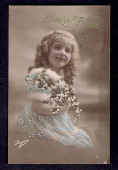 Beautiful Edwardian Girl