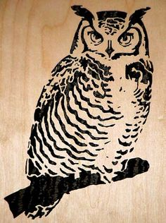 scroll saw owl - Google Search