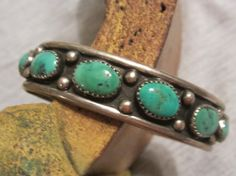Vintage Turquoise Jewelry/Native American by edanebeadwork on Etsy, $159.00