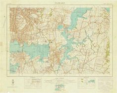 Tamaki: Department of Lands & Survey, 1943.