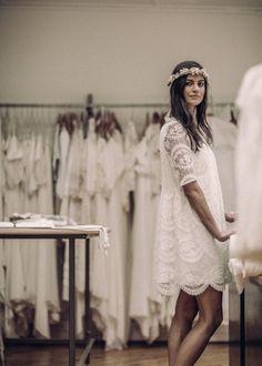 Laurent Nivalle - Laure de Sagazan - Robes de mariee courtes - La mariee aux…