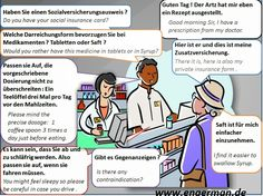 German Conversations and Dialogues German Grammar, German Words, Akkusativ Deutsch, Deutsch Language, German English, German Language Learning, Learn German, Language Activities, Cool Websites