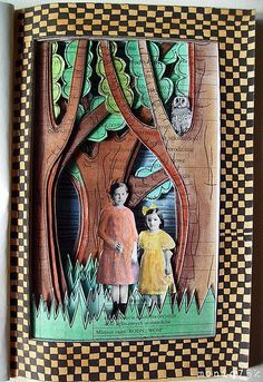 altered book - you're lost little girl by moniq75k on Flickr