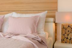 Leinen-Bettwäsche aus dem Schweizer Atelier The Linen Company
